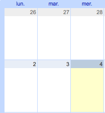 A new Calendar has been setup on /tmp/lab website in order to coordinate our events. Notably you will find the weekly open meeting where everybody is free to join us, […]