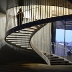 Escalier de la mediatheque