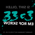 "Each year with winter comes the Chaos Computer Congress in Hamburg. 2016 edition : 27-30 dec. Survival guide for this 33rd edition : Program Streams and Recording Wiki "" Works […]"